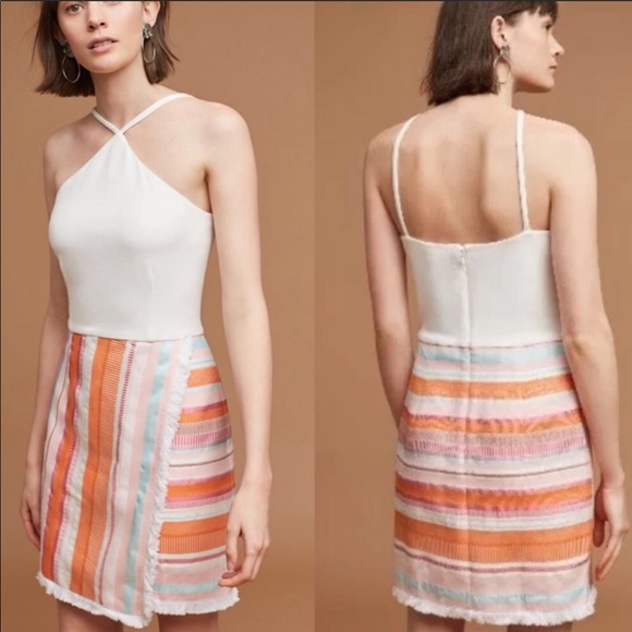 Anthropologie Dresses & Skirts - Hutch Anthropologie kayln halter dress size 4